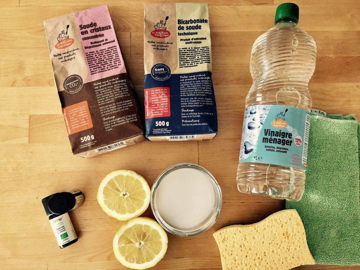 Défi n° 4 : Nettoyez au naturel