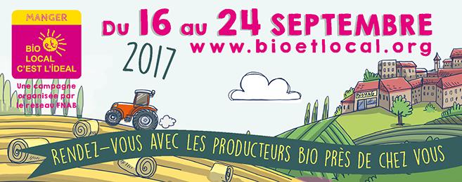Manger bio et consommer local : du 16 au 24 septembre, rendez-vous avec les producteurs bio près de chez vous